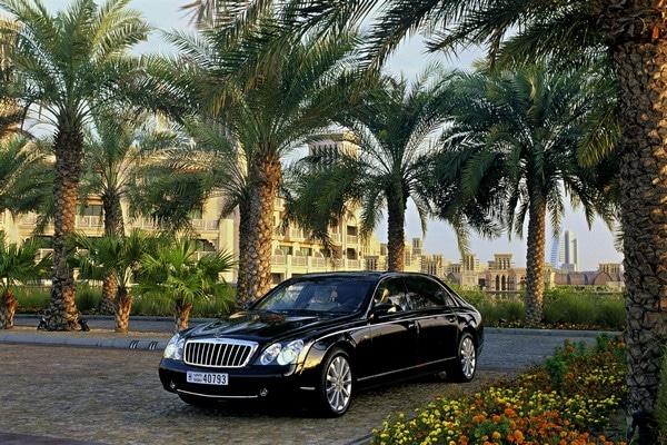 Mercedes-Benz Maybach 62 S, Exterieur, Dubai