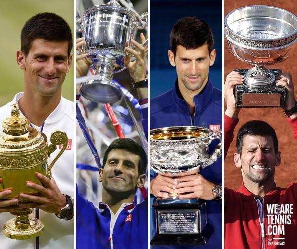 Novak Djokovic 4 à la suite