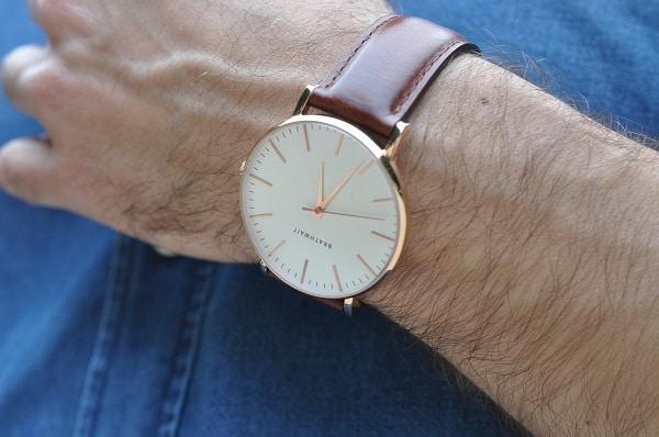 Montre Brathwait The classic slim wrist watch