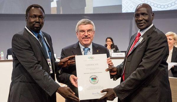 Le Soudan du Sud participera aux JO de RIO 2016