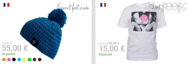 Made In La France tshirt et bonnet