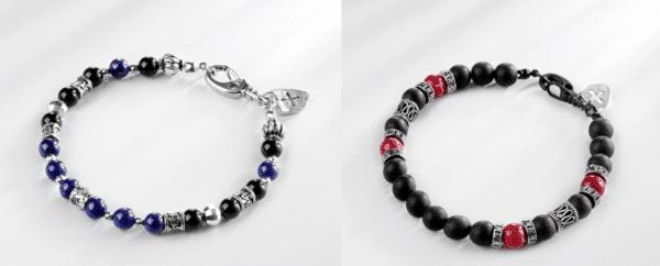 Bracelets perles pour homme