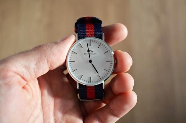 Avec son bracelet nato, cette montre Daniel Wellington est parfaite pour le week-end !