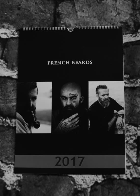 Calendrier de barbus français 2017