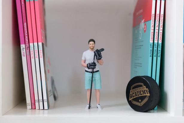 figurines 3D réalistes homme