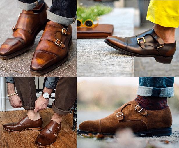 Stylé avec des Chaussures à boucles pour hommes
