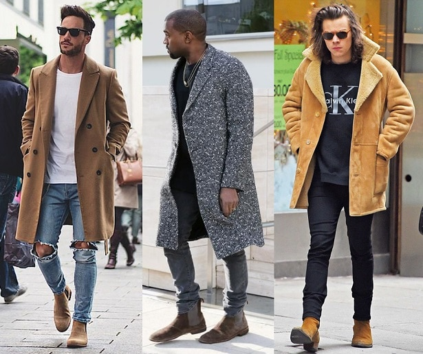 porter bottines cuir homme