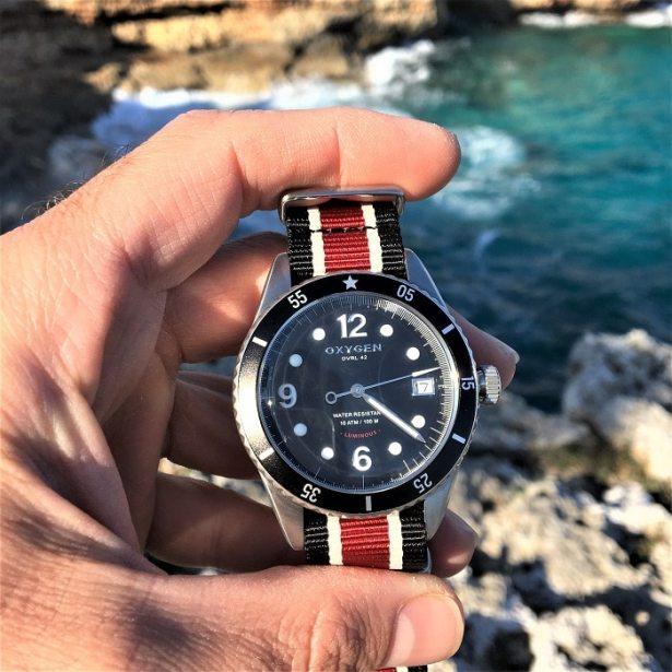 Montre OXYGEN Diver Legend 42 / Montre de plongée pour homme
