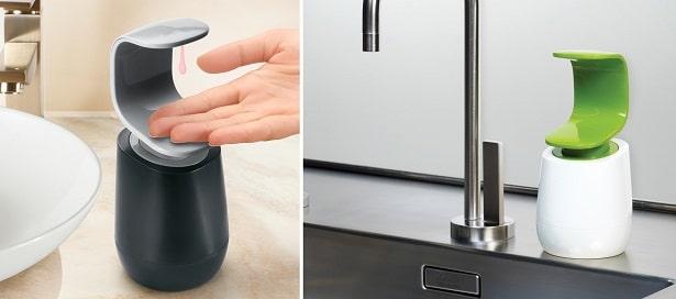 Distributeur de savon à une main