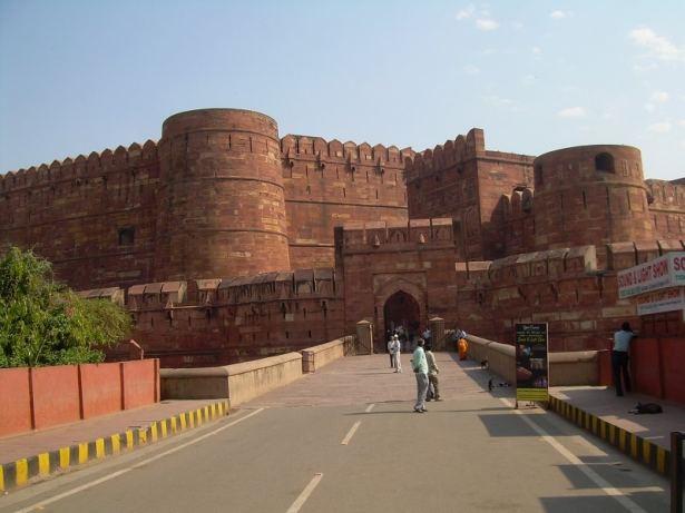Fort rouge Agra, Inde