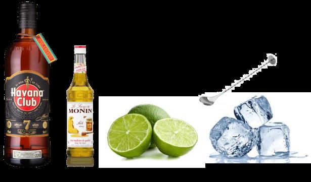 La canchanchara: cocktail à base de Havana club 7 ans