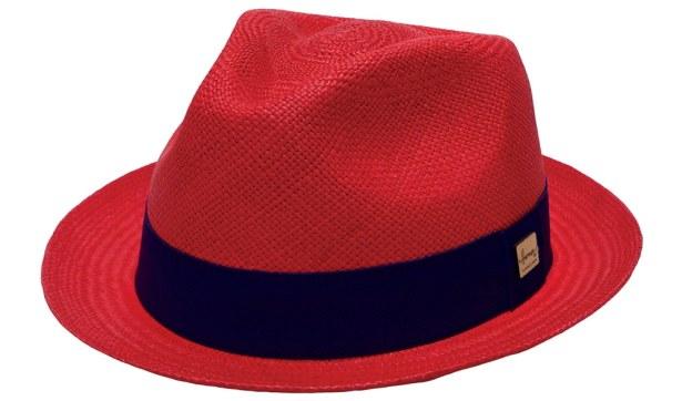 Panama Herman Headwear rouge !