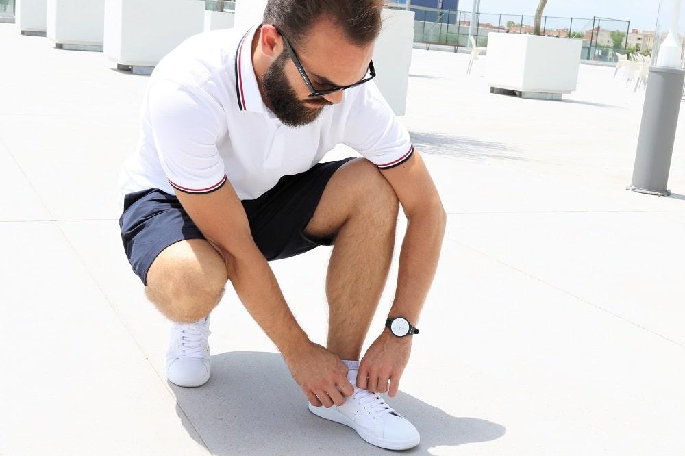 Top 5 des sneakers blanches en cuir pour Hommes