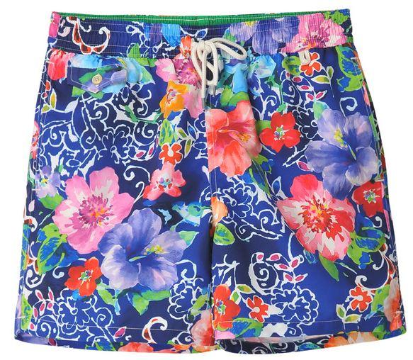 Short de bain imprimé floral Polo Ralph Lauren