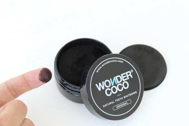WONDERCOCO, poudre 100% naturelle pour blanchir les dents