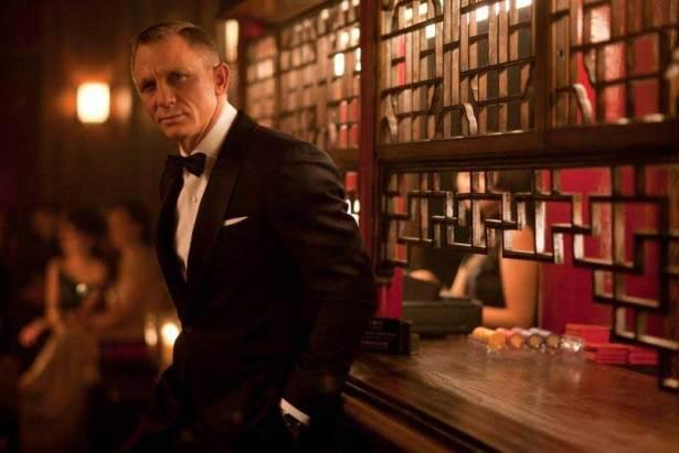 Daniel Craig dans James Bond 006 - S.T Dupont