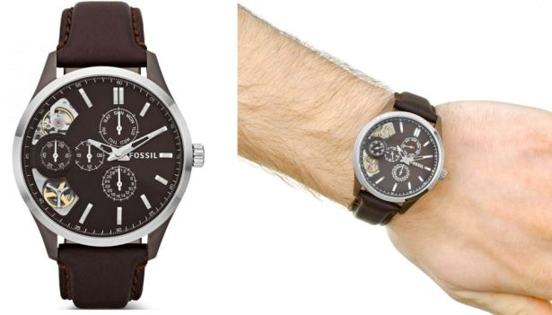montre-fossil-homme-twist
