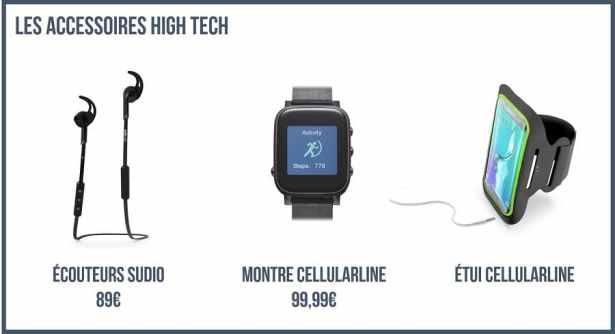 Les Accessoires High-Tech - Look Sport et High Tech