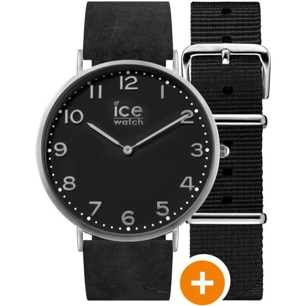 Montre Ice-Watch au fond noir - top 5 ice watch pour homme