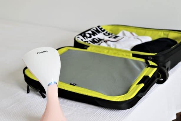A utiliser en déplacement ou à la maison - défroisseur style pure touch Philips