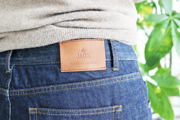 Etiquette en cuir JAQK - Look Back To work