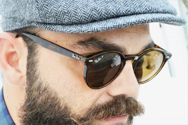 Mes Ray-Ban rondes - look Back to work