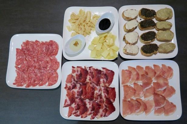 Des produits locaux venus tout droit de Toscane !
