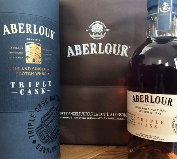L'Aberlour Triple Cask, un single malt incroyable de douceur @gentilgourmet