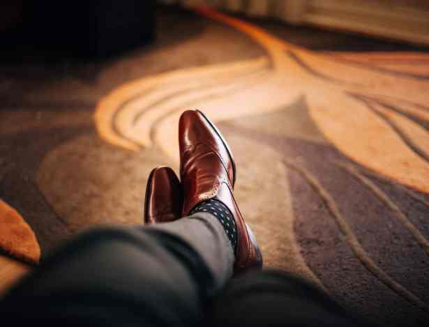 Un peu de fantaisie sur les chaussettes ne fait pas de mal !