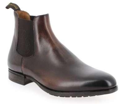 Boots homme doublure cuir et d'une semelle intérieure en cuir