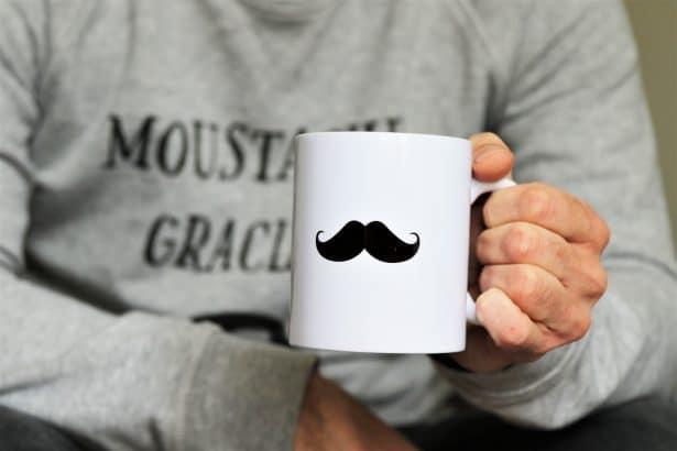 Mug Moustache - T shirt corner