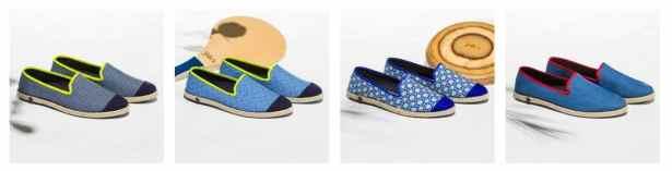 Sneakers-Espadrilles aux motifs estivaux by Angarde