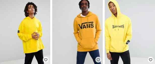 hoodies jaune