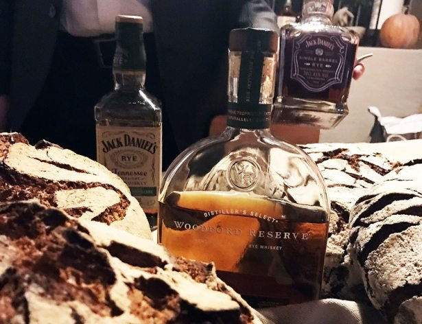 La gamme des 3 principaux Rye whisky du group Brown Forman