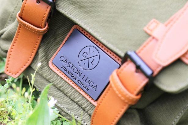 La marque suédoise Gaston Luga débarque en France et nous présente son sac à dos kaki ultra ultra tendance