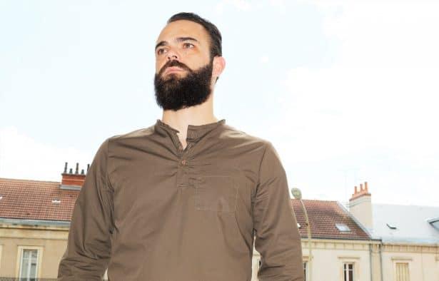 En haut des toits avec mon barbot Les Vilains Parisiens