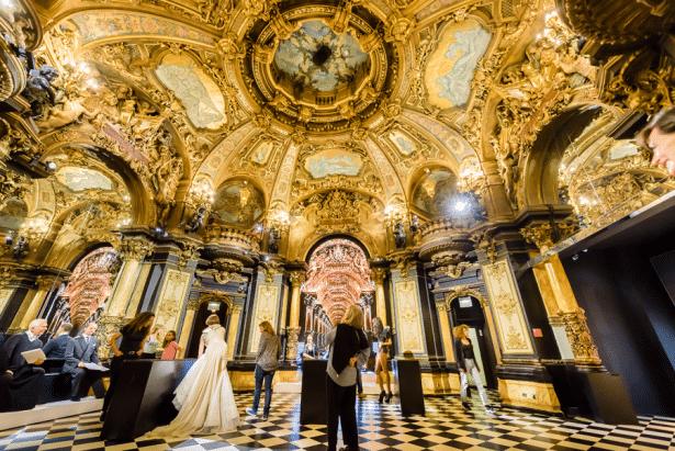 La salle des colonnes - Grévin, un musée chargé d'histoire !