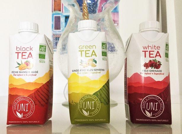 Les thés infusés UNI super frais, super bio et super bons !