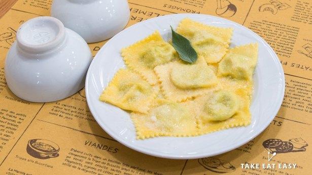 Restaurant La Salsamenteria Di Parma - Tortelli