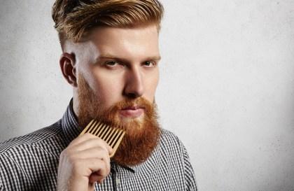 belle et grosse barbe