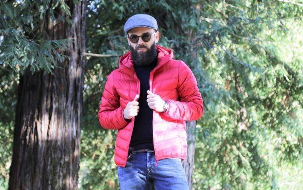 Doudoune homme rouge ultra légère Uniqlo - 79.90€