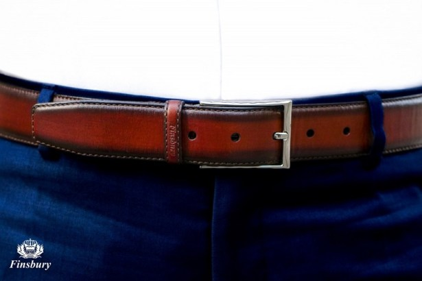 La ceinture comme véritable accessoire de mode pour homme