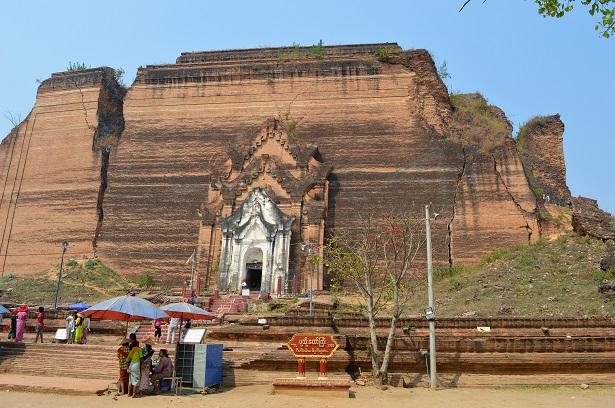 Pagode inachevée, Mingun, Birmanie