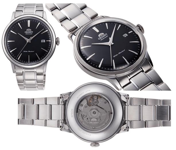 ORIENT: Mechanical Classic Watch, Mertal Strap - 40.5mm (RA-AC0006B)