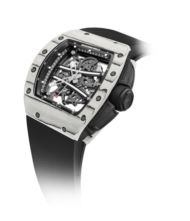 Richard Mille // Nouvelle RM 61-01 Ultimate Edition Yohan Blake - face