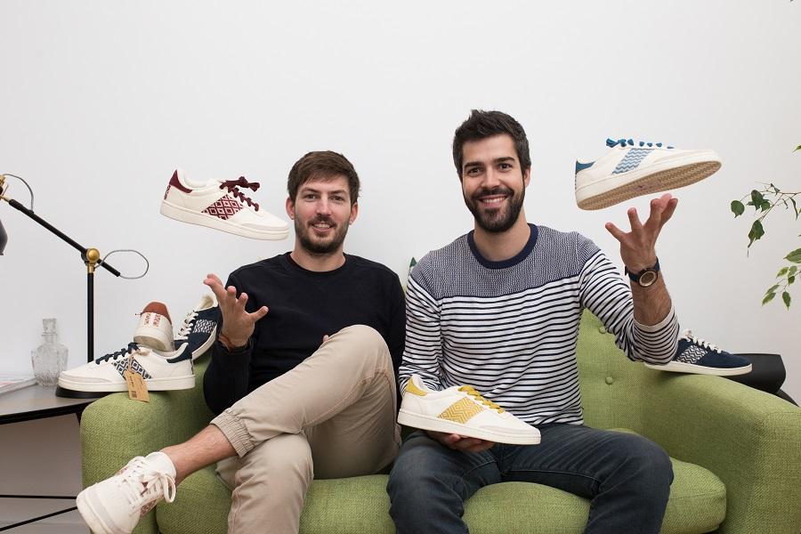 Ronan et Kevin, les 2 fondateurs de N'go Shoes