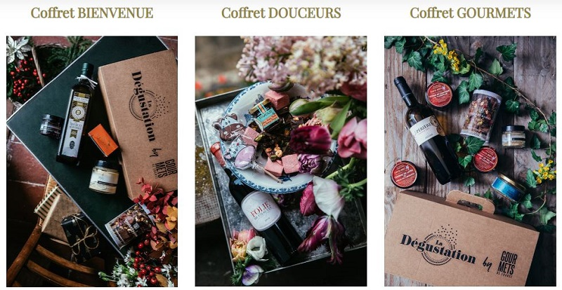 Offres Box La Dégustation by Gourmets de France