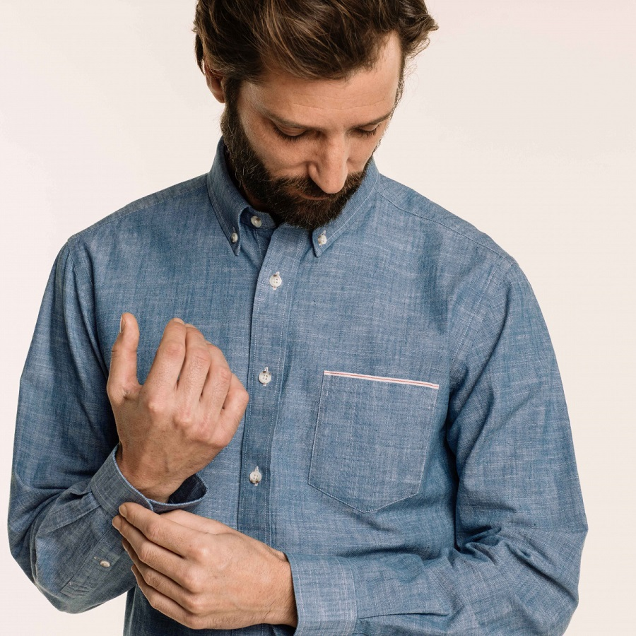 Hast : test et avis chemises en chambray décontractée