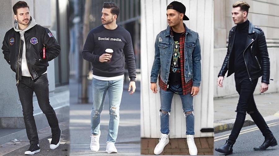 Looks streetwear homme