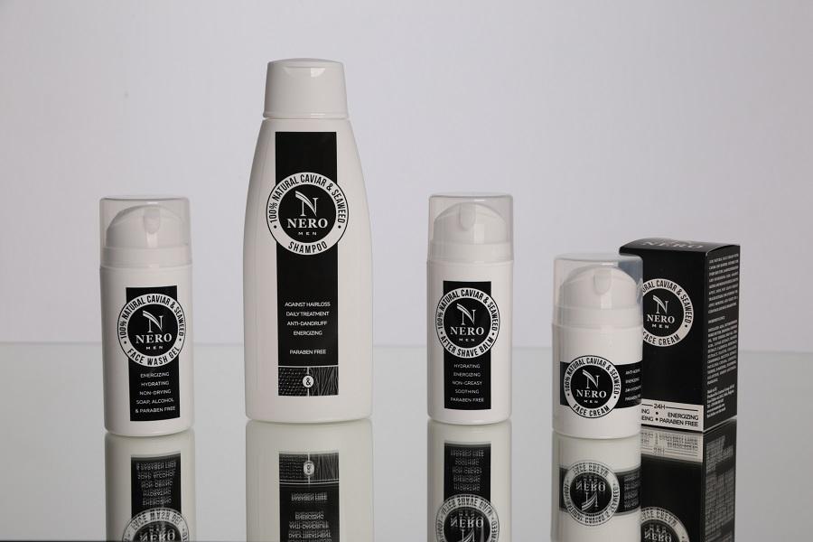 Gamme de produits cosmétiques pour homme 100% naturels